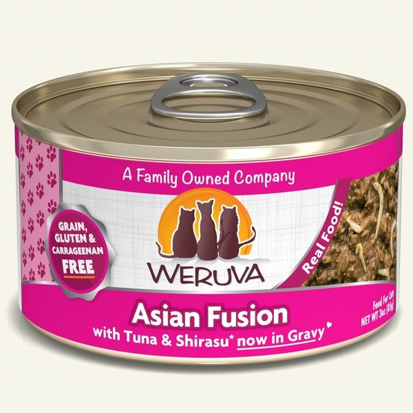 Weruva Classic Canned Cat Food, Asian Fusion, 5.5 oz can