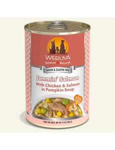 Weruva Classic Canned Dog Food, Jammin' Salmon, 14 oz can