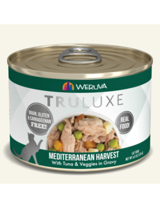 Weruva TruLuxe Canned Cat Food, Mediterranean Harvest, 6 oz can