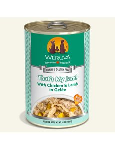 Weruva Classic Canned Dog Food, That's My Jam, 14 oz can