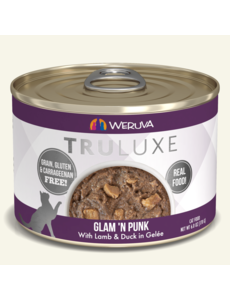 Weruva TruLuxe Canned Cat Food, Glam 'N Punk, 6 oz can