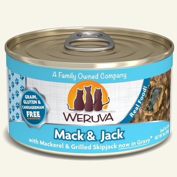 Weruva Classic Canned Cat Food, Mack and Jack