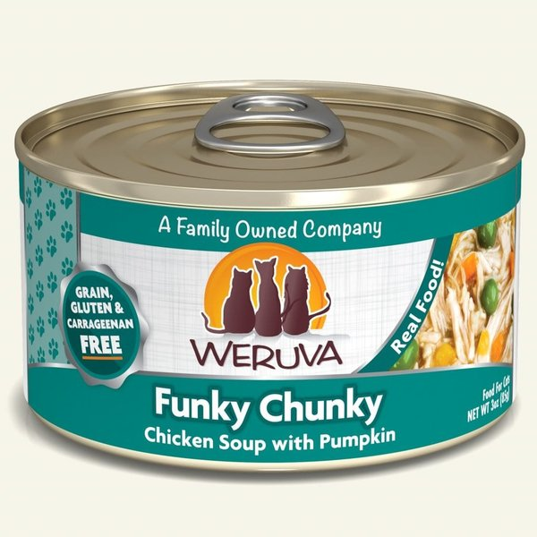 Weruva Classic Canned Cat Food, Funky Chunky