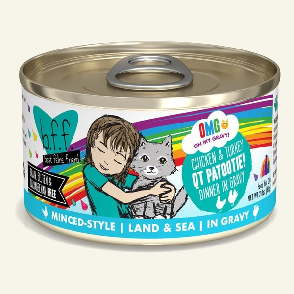 Weruva BFF OMG! Canned Cat Food, QT Patootie