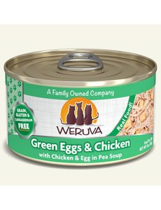 Weruva Classic Canned Cat Food, Green Eggs and Chicken