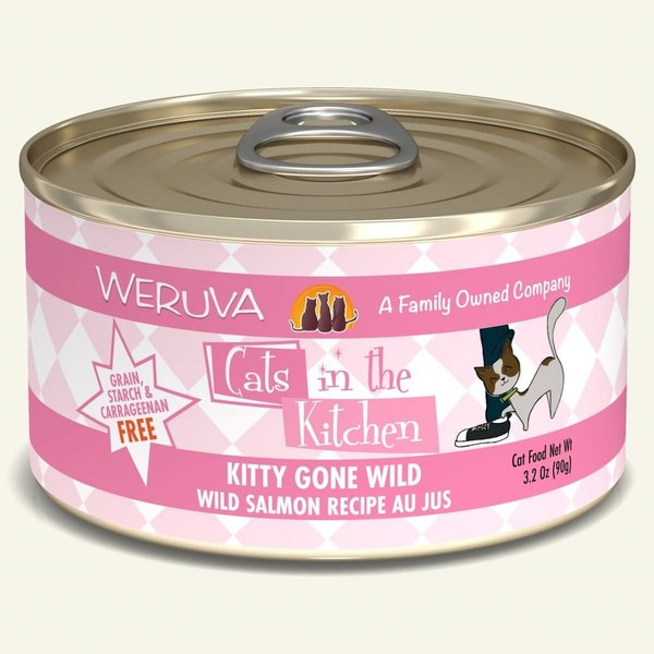 Weruva Cats in the Kitchen Canned Cat Food, Kitty Gone Wild