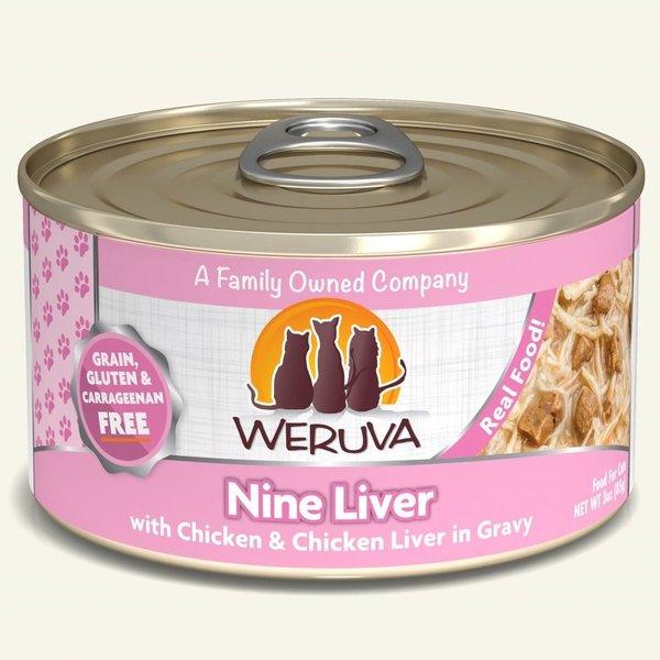 Weruva Classic Canned Cat Food, Nine Liver