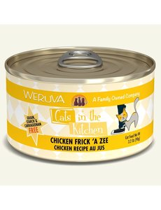 Weruva Cats in the Kitchen Canned Cat Food, Chicken Frick 'A Zee