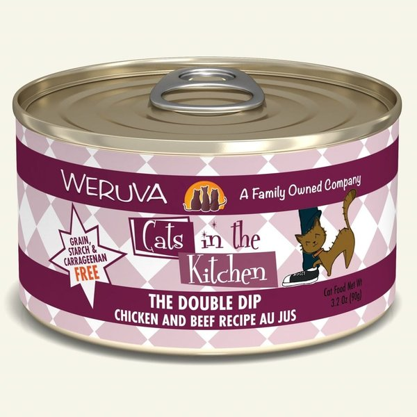 Weruva Cats in the Kitchen Canned Cat Food, The Double Dip