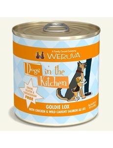 Weruva Dogs in the Kitchen Canned Dog Food, Goldie Lox, 10 oz can