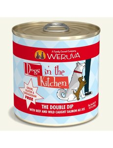 Weruva Dogs in the Kitchen Canned Dog Food, The Double Dip, 10 oz can