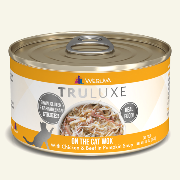 Weruva Truluxe Canned Cat Food, On the Cat Wok, 6 oz can