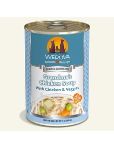 Weruva Classic Canned Dog Food, Grandma's Chicken Soup, 14 oz can