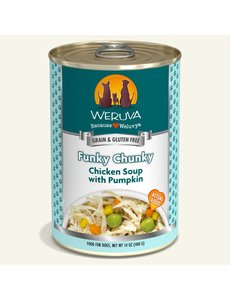 Weruva Classic Canned Dog Food, Funky Chunky, 14 oz can