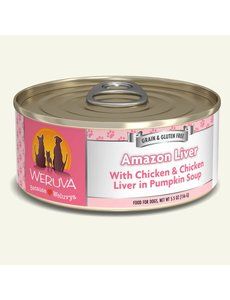 Weruva Classic Canned Dog Food, Amazon Liver, 5.5 oz can