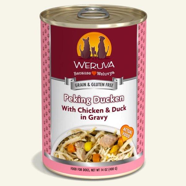 Weruva Classic Canned Dog Food, Peking Ducken, 14 oz can