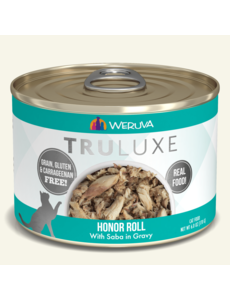 Weruva Truluxe Canned Cat Food, Honor Roll, 6 oz can