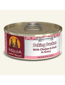 Weruva Classic Canned Dog Food, Peking Ducken, 5.5 oz can