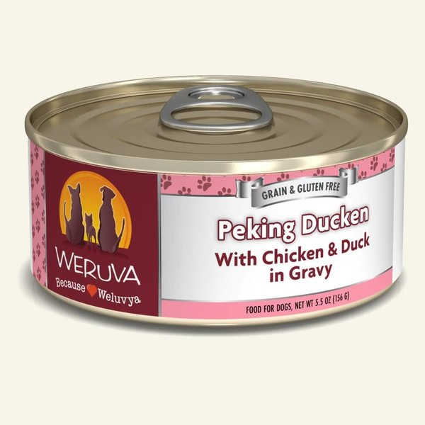 Weruva Classic Canned Dog Food, Peking Ducken, 5.5 oz can