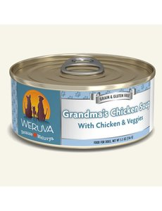 Weruva Classic Canned Dog Food, Grandma's Chicken Soup, 5.5 oz can