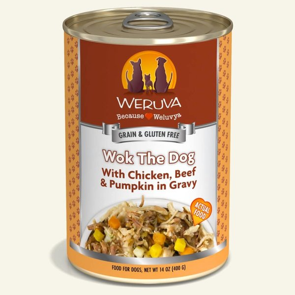 Weruva Classic Canned Dog Food, Wok The Dog, 14 oz can