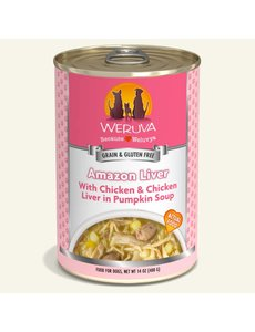 Weruva Classic Canned Dog Food, Amazon Liver, 14 oz can
