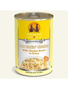Weruva Classic Canned Dog Food, Paw Lickin' Chicken, 14 oz can