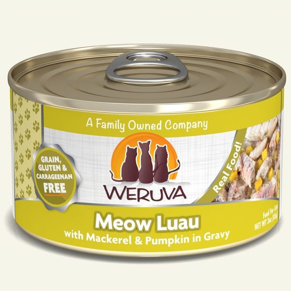 Weruva Classic Canned Cat Food, Meow Luau, 3 oz can