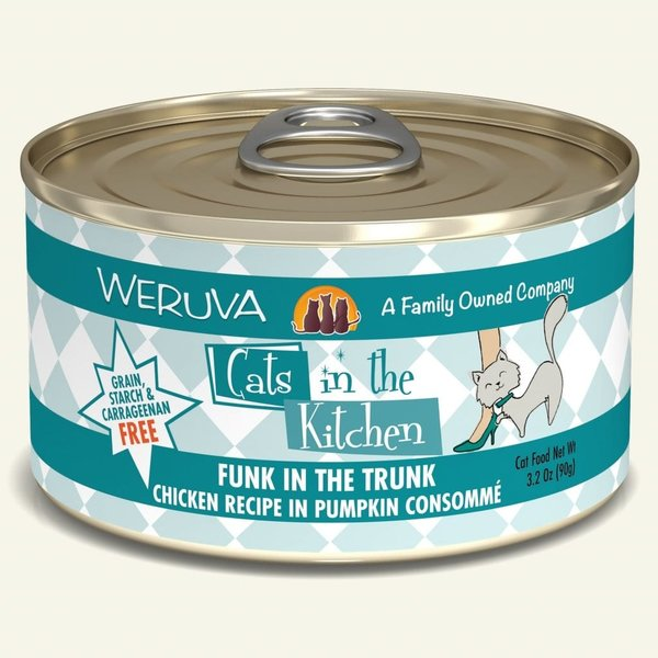 Weruva Cats in the Kitchen Canned Cat Food, Funk in the Trunk