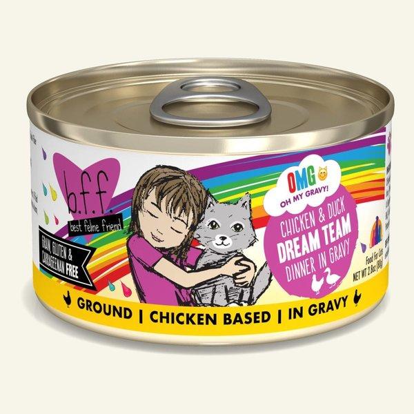 Weruva BFF OMG! Canned Cat Food, Dream Team