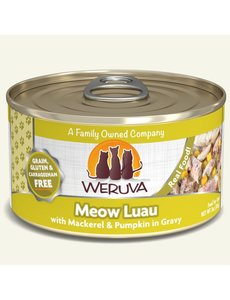 Weruva Classic Canned Cat Food, Meow Luau, 24/5.5 oz (CASE)