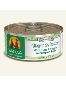 Weruva Classic Canned Dog Food, Cirque de la Mer, 24/5.5 oz (CASE)
