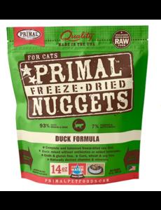 Primal Freeze Dried Cat Food, Duck, 14 oz bag