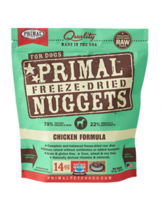 Primal Freeze Dried Dog Food, Chicken, 14 oz bag