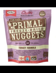 Primal Freeze Dried Cat Food, Turkey, 14 oz bag