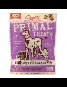 Primal Chicken Nibs Dog & Cat Treats, 4 oz bag