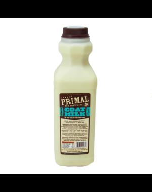 Primal Frozen Raw Goat Milk, 16 oz bottle