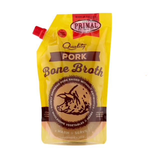 Primal Pork Bone Broth, 20 oz pouch