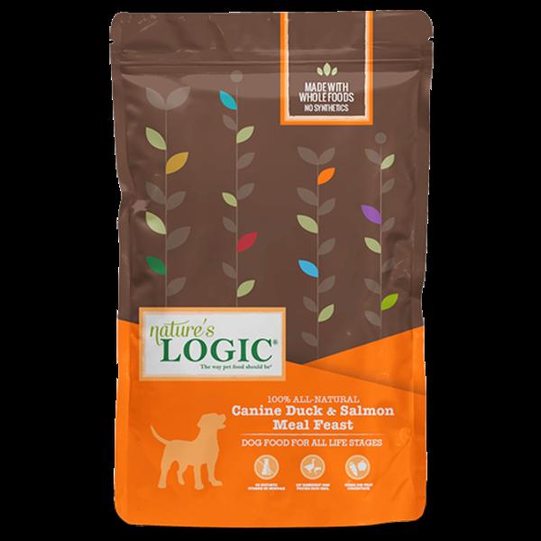 Nature's Logic Dry Dog Food, Duck & Salmon, 4.4 lb bag