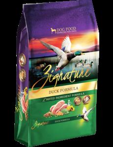 Zignature Dry Dog Food, Duck