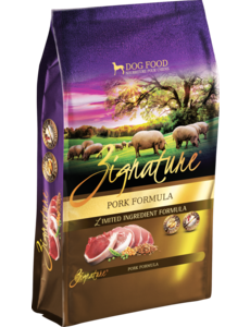 Zignature Dry Dog Food, Pork