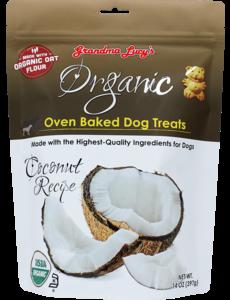 Grandma Lucy's Organic Baked Coconut Dog Treats, 14 oz bag
