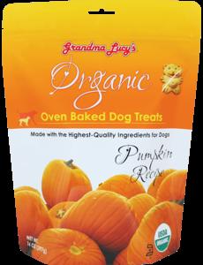 Grandma Lucy's Organic Baked Pumpkin Dog Treats, 14 oz bag