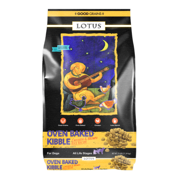 Lotus Oven Baked Dry Dog Food, Chicken Adult