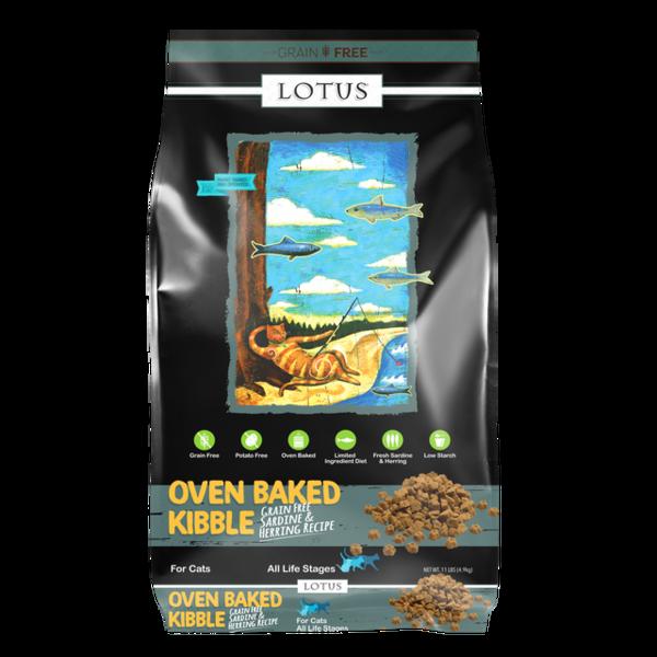 Lotus Oven Baked Dry Cat Food, Sardine & Herring