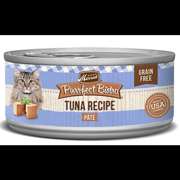 Merrick Purrfect Bistro Canned Cat Food, Tuna Pate