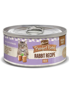 Merrick Purrfect Bistro Cat Canned Food, Rabbit Pate, 5.5 oz can