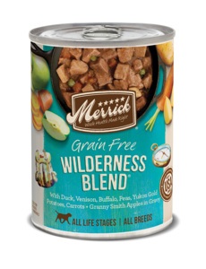 Merrick Canned Dog Food, Wilderness Blend, 12.7 oz can