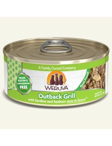 Weruva Classic Canned Cat Food, Outback Grill, 5.5 oz can