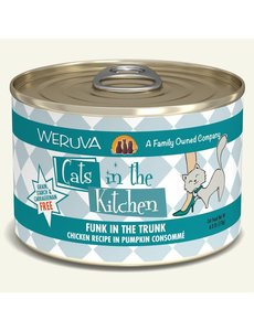 Weruva Cats in the Kitchen Canned Cat Food, Funk in the Trunk, 24/6 oz (CASE)
